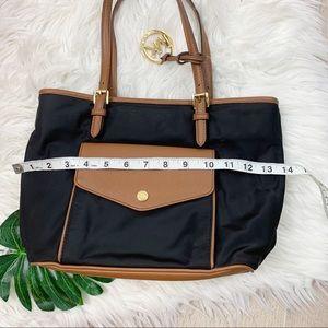 Michael Kors Bags - Michael Kors Black Tan Leather Shoulder Bag Purse